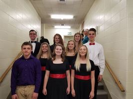 High School Music Students Attend District Solo and Ensemble Contest