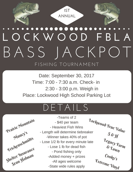 FBLA fishing tournament