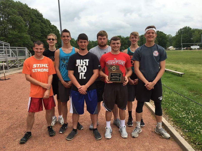 Lockwood Boys Win District Track Title